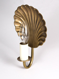 Electric Shell Wall Sconce